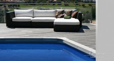Modelo Sofa Modular Amore Amore piscina