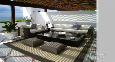 Modelo Sofa modular Amore Amore color Bamboo 1