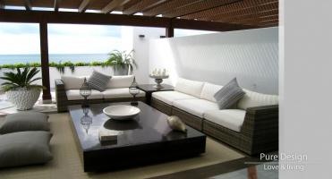Modelo Sofa modular Amore Amore color Bamboo