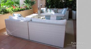 Modelo Sofa modular Amore Amore color Blanco 1