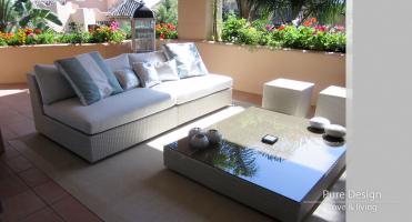 Modelo Sofa modular Amore Amore color Blanco