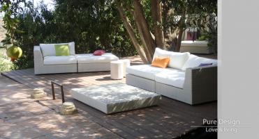 Modelo Sofa modular Amore Amore color Blanco 4
