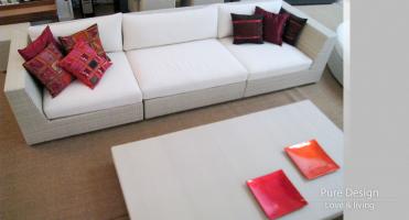 Modelo Sofa modular Amore Amore color blanco 2