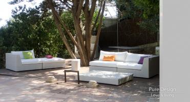 Modelo Sofa modular Amore Amore color blanco 5